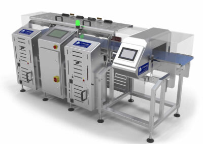Uk Inspection Systems Food Industry Safety Aegis+ Checkweigher
